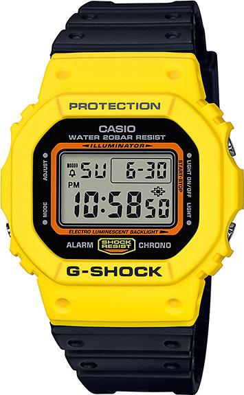 Мужские часы Casio DW-5600TB-1E часы casio dw 6900bb 1e черный