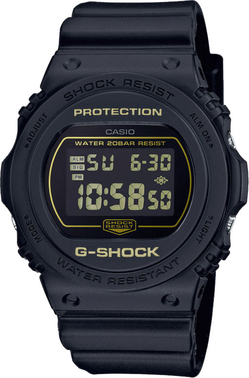 Мужские часы Casio DW-5700BBM-1ER наручные часы casio dw d5500bb 1er