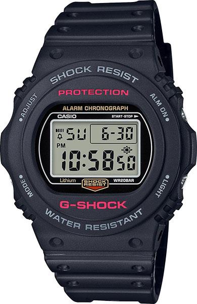Мужские часы Casio DW-5750E-1E casio prw 3500 1e