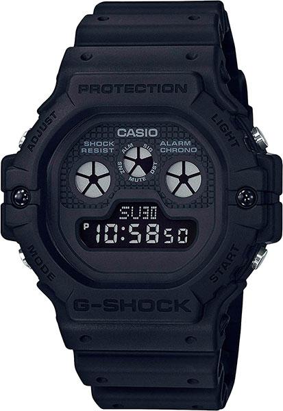 Мужские часы Casio DW-5900BB-1E часы casio dw 6900bb 1e черный