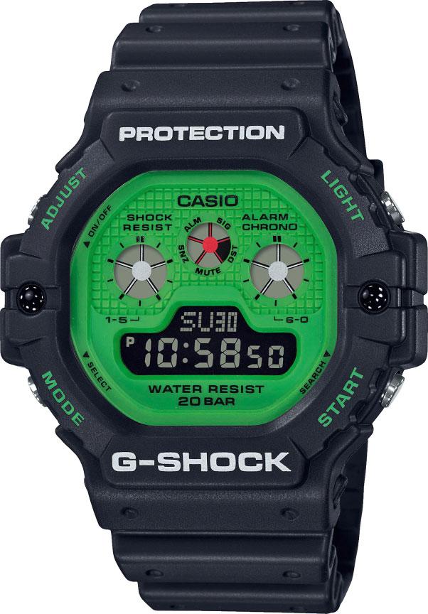 Мужские часы Casio DW-5900RS-1ER наручные часы casio dw d5500bb 1er