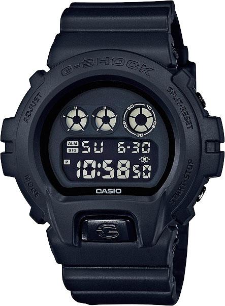 Мужские часы Casio DW-6900BB-1E casio dw 6900bb 1