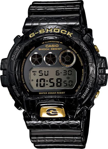 Японские мужские часы в коллекции G-SHOCK Мужские часы Casio DW-6900CR-1E фото