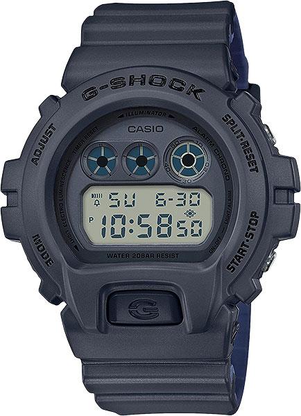 Мужские часы Casio DW-6900LU-8E мужские часы casio dw 6900zb 2e