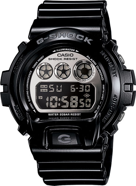 Мужские часы Casio DW-6900NB-1E casio prw 3500 1e