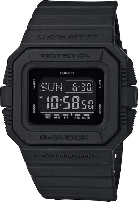 Мужские часы Casio DW-D5500BB-1E наручные часы casio dw d5500bb 1er