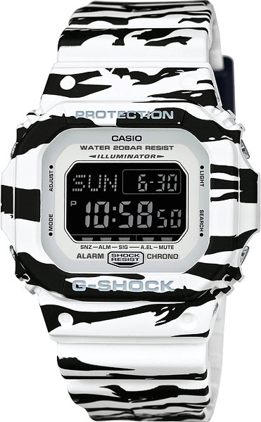 Мужские часы Casio DW-D5600BW-7E все цены