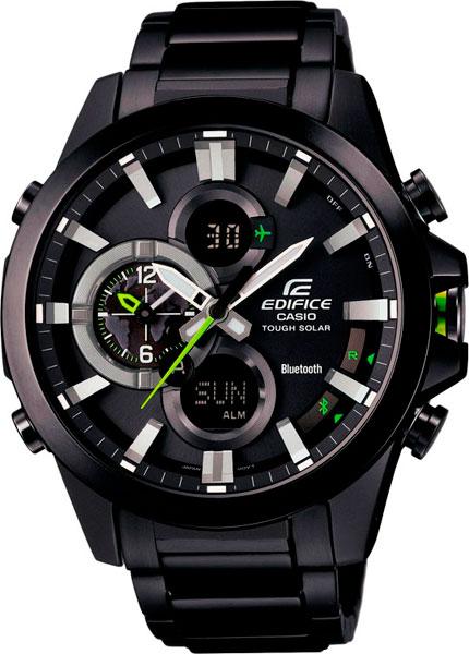 где купить Мужские часы Casio ECB-500DC-1A по лучшей цене