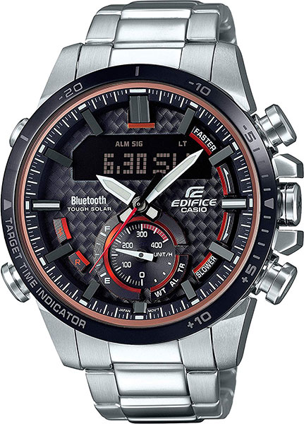 Мужские часы Casio ECB-800DB-1A все цены