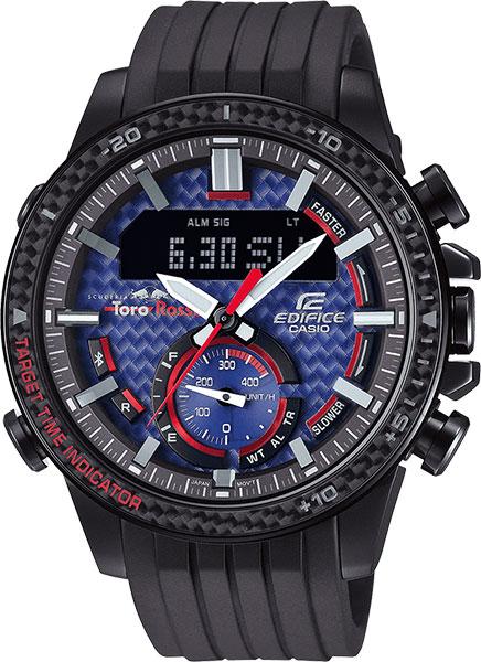 Мужские часы Casio ECB-800TR-2A мужские часы casio ecb 800d 1a