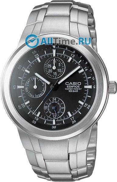 Мужские часы Casio EF-305D-1A casio мужские японские спортивные наручные часы casio ef 305d 1a