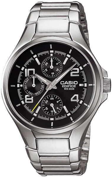 Мужские часы Casio EF-316D-1A Женские часы SOKOLOV 124.30.00.000.01.02.2