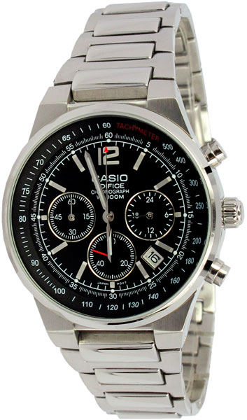 цена Мужские часы Casio EF-500D-1A онлайн в 2017 году
