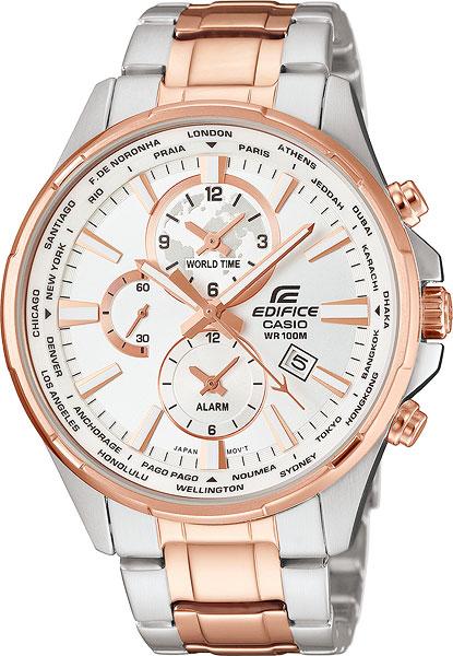 Мужские часы Casio EFR-304SG-7A casio sheen multi hand shn 3013d 7a