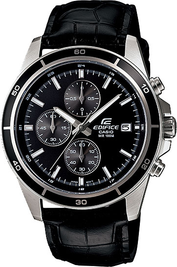 Мужские японские наручные часы Casio Edifice EFR-526L-1A с хронографом