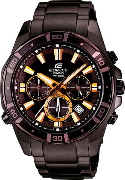 Мужские часы Casio EFR-534BK-1A casio efr 534bk 1a