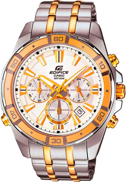 Мужские часы Casio EFR-534SG-7A casio sheen multi hand shn 3013d 7a