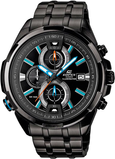 Мужские часы Casio EFR-536BK-1A2 цены онлайн