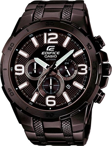 Мужские часы Casio EFR-538BK-1A casio efr 538bk 1a