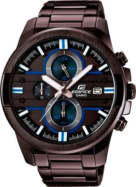 цена  Мужские часы Casio EFR-543BK-1A2  онлайн в 2017 году