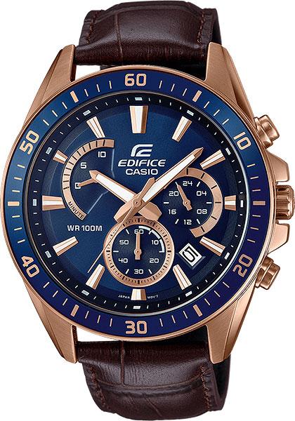 цена Мужские часы Casio EFR-552GL-2A онлайн в 2017 году