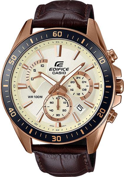 Мужские часы Casio EFR-552GL-7A casio часы casio efr 552gl 7a коллекция edifice