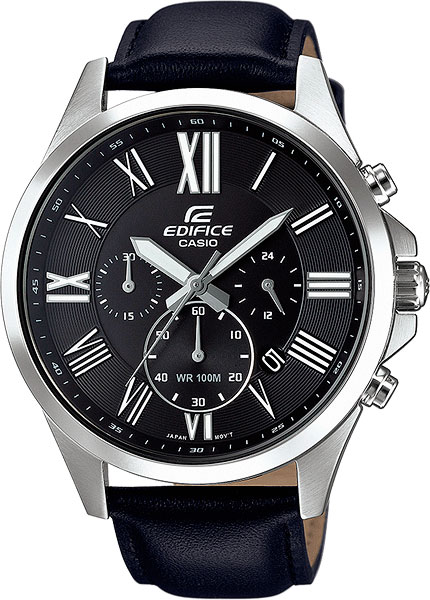 Мужские часы Casio EFV-500L-1A casio efv c100d 1a