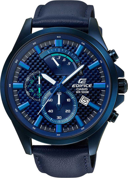 Мужские часы Casio EFV-530BL-2A цена и фото