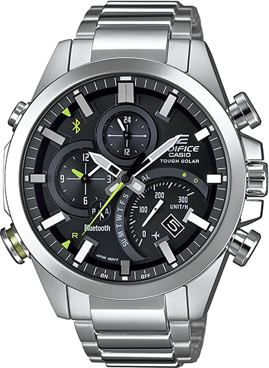 Мужские часы Casio EQB-500D-1A цена 2017