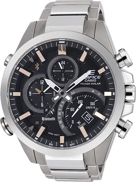 Мужские часы Casio EQB-500D-1A2 casio часы casio eqb 500d 1a2 коллекция edifice