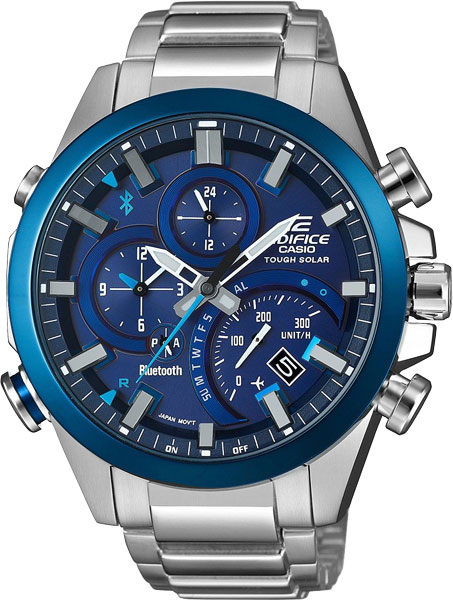 Мужские часы Casio EQB-500DB-2A casio edifice eqb 600d 1a