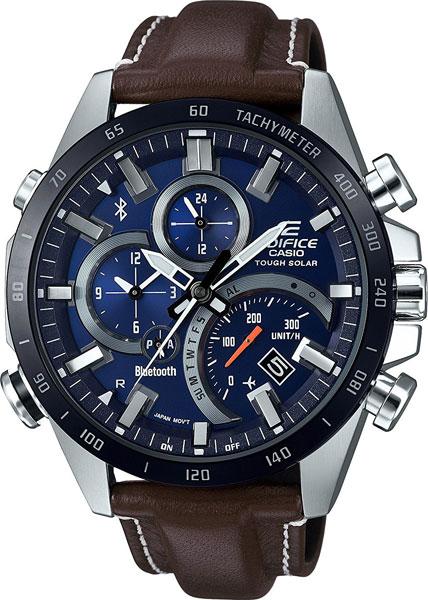 Мужские японские наручные часы Casio Edifice EQB-501XBL-2A с хронографом
