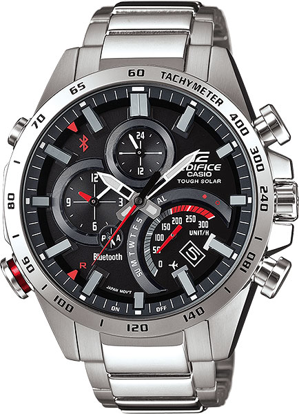 Мужские часы Casio EQB-501XD-1A мужские часы casio eqb 501xbl 1a
