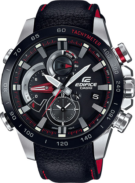 Мужские часы Casio EQB-800BL-1A мужские часы casio eqb 501xbl 1a