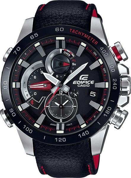 Мужские часы Casio EQB-800BL-1A цена 2017