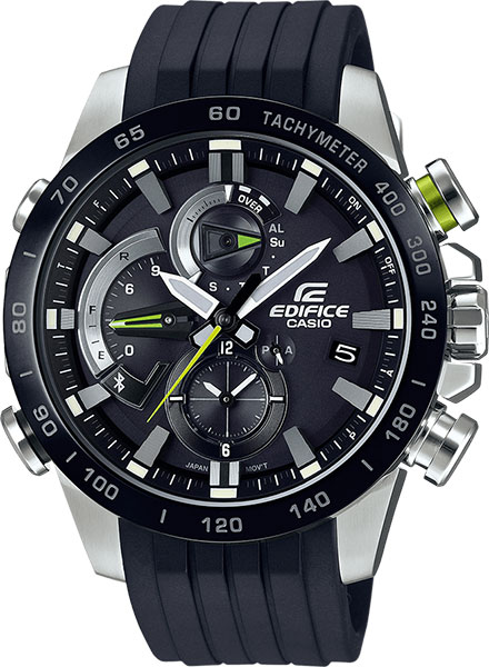 Мужские часы Casio EQB-800BR-1A цена 2017