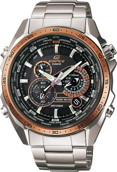 Мужские часы Casio EQS-500DB-1A2