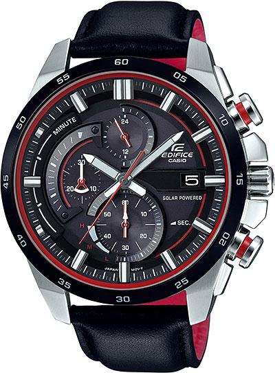 Мужские часы Casio EQS-600BL-1A casio eqs a500db 1a