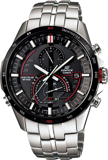 Мужские часы Casio EQS-A500DB-1A casio eqs a1000rb 1a
