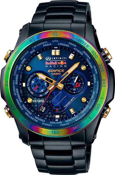 Мужские часы Casio EQW-T1010RB-2A casio часы casio eqw t1010rb 2a коллекция edifice infiniti red bull racing
