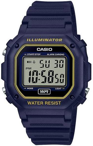 купить Мужские часы Casio F-108WH-2A2 онлайн