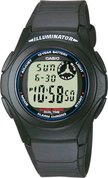 Мужские часы Casio F-200W-1A цена
