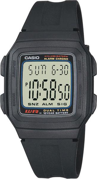 Мужские часы Casio F-201W-1A