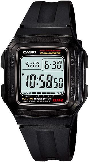 Мужские часы Casio F-201WA-1A