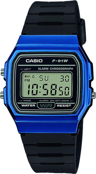 Мужские часы Casio F-91WM-2A casio f 91wm 2a