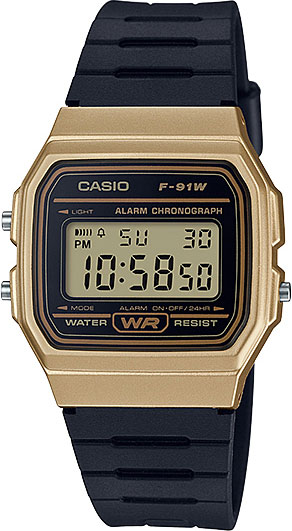 Мужские часы Casio F-91WM-9A casio f 91wm 2a