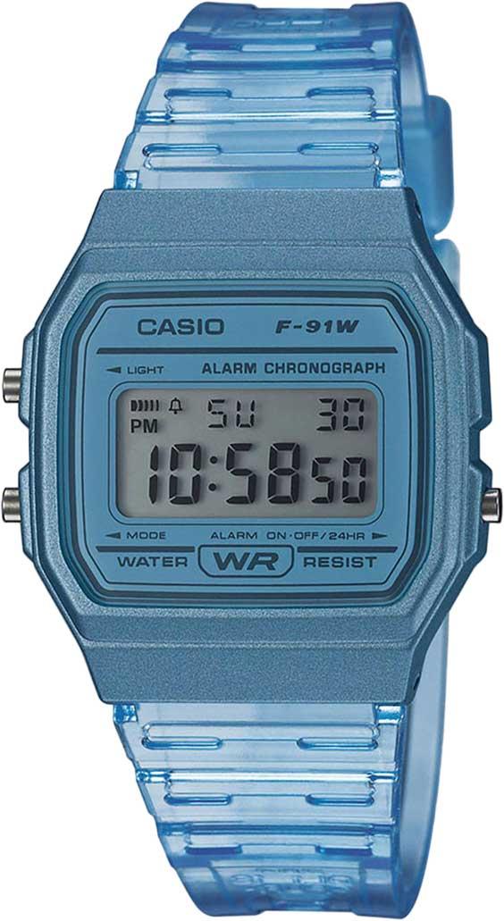 Наручные часы Casio Collection F-91WS-2EF — купить в интернет-магазине AllTime.ru по лучшей цене, фото, характеристики, инструкция, описание