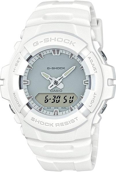 Мужские часы Casio G-100CU-7A casio sheen multi hand shn 3013d 7a