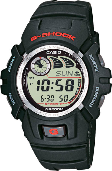 ������� ���� � �������� ������� Casio G-SHOCK G-2900F-1V