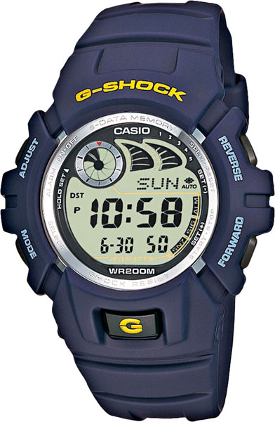 Мужские часы Casio G-2900F-2V цена и фото